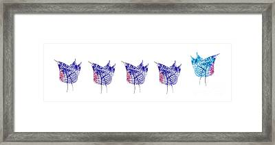Go Your Own Way Framed Print by Beate Allerton