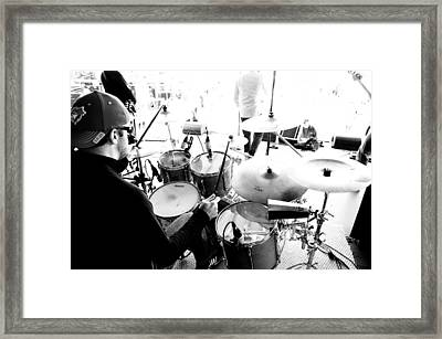 Keepin' The Beat Framed Print by Paul Wash