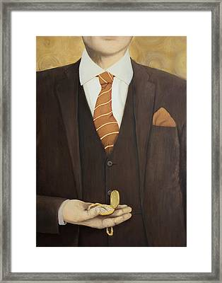 Keeping Time Framed Print by Patrick Kelly