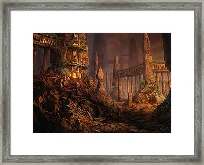 Keldon Megolith Framed Print by Philip Straub