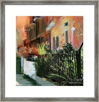 Kensington Market District T.o. Framed Print by Bob Salo