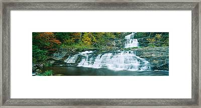 Kent Falls State Park, Connecticut Framed Print by Panoramic Images