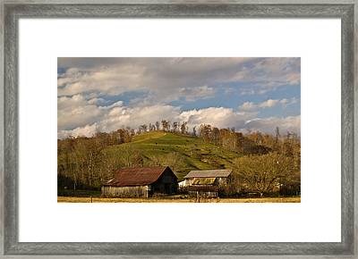 Kentucky Mountain Farmland Framed Print by Douglas Barnett