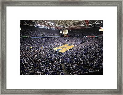Kentucky Wildcats Rupp Arena Framed Print by Replay Photos