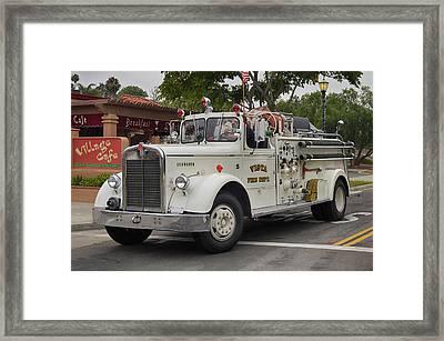Kenworth Engine Framed Print by Bill Dutting
