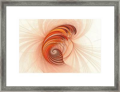 Spirals Of Ceraxemo  Framed Print by Doug Morgan