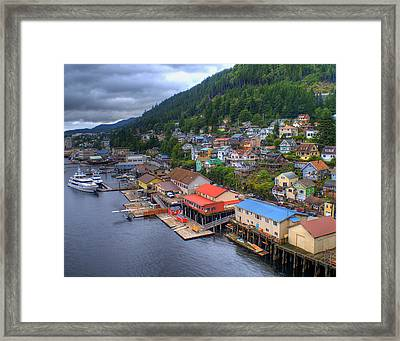 Ketchikan Alaska Framed Print by Don Wolf