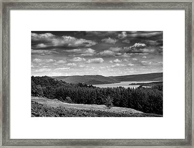Keuka Landscape I Framed Print by Steven Ainsworth