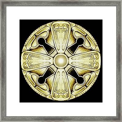 Key Knob Framed Print by Greg Joens