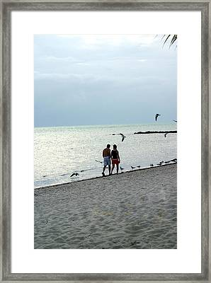 Key West Framed Print by Marty Koch