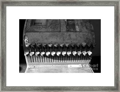 Keys To Commerce Framed Print by David Lee Thompson