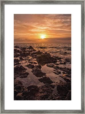 Kihei Sunset 2 - Maui Hawaii Framed Print by Brian Harig