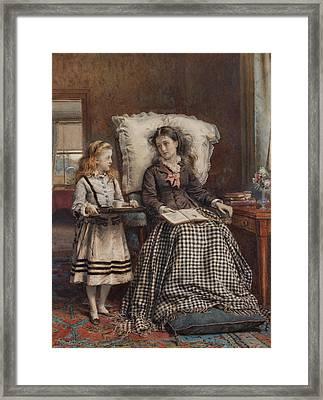 Kilburne The Nursemaid Framed Print by George Goodwin