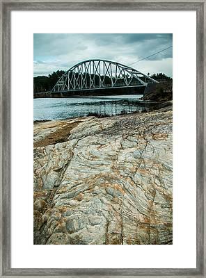 Kilefjorden Broa Framed Print by Mirra Photography