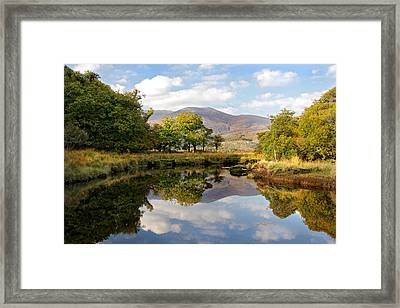 Killarney Lake Reflection Ireland Framed Print by Pierre Leclerc Photography