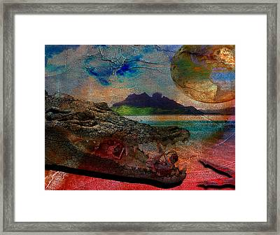 Killer Instinct Framed Print by Solomon Barroa