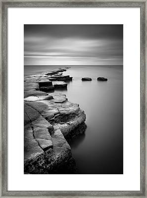 Kimmeridge Bay II Framed Print by Nina Papiorek