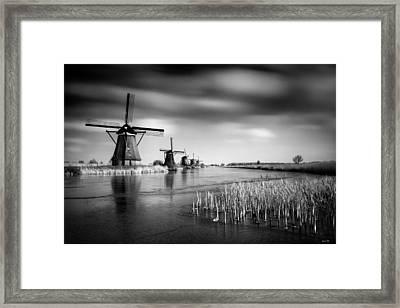 Kinderdijk Framed Print by Dave Bowman