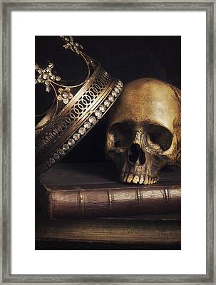King For A Day Framed Print by Amy Weiss