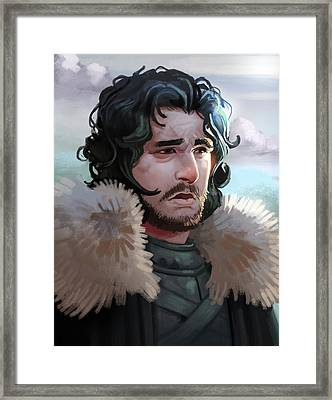 King In The North Framed Print by Michael Myers
