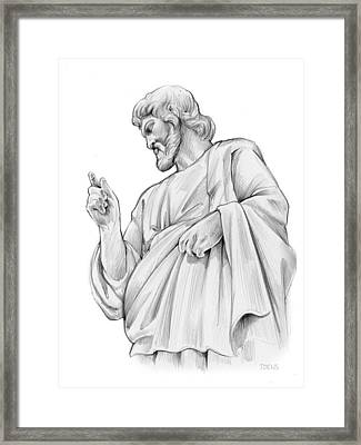King Of Kings Framed Print by Greg Joens