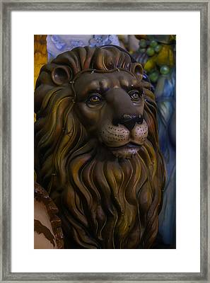 King Of The Beasts Framed Print by Garry Gay