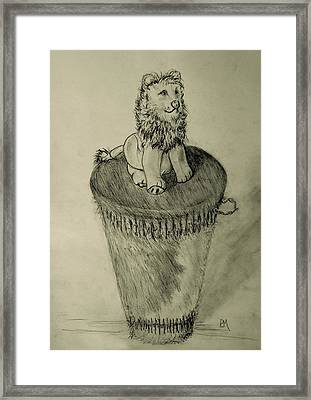 King Of The Drum Framed Print by Pete Maier