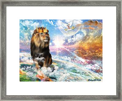 Kingdom Key Framed Print by Dolores Develde