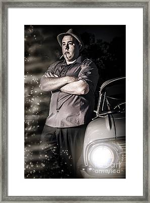 Kingpin Hitman Executing A Planned Assassination Framed Print by Jorgo Photography - Wall Art Gallery