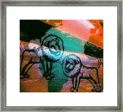Kings And Kings - Tribe Of Judah Framed Print by Fania Simon