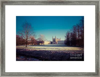 Kings College Framed Print by David Warrington