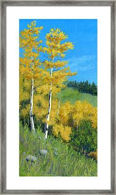 Kings Of Autumn Framed Print by David King