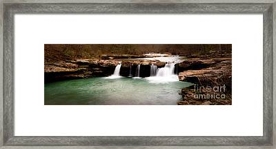 King's River Panorama Framed Print by Tamyra Ayles