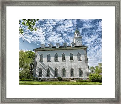 Kirtland Temple Framed Print by Stephen Stookey