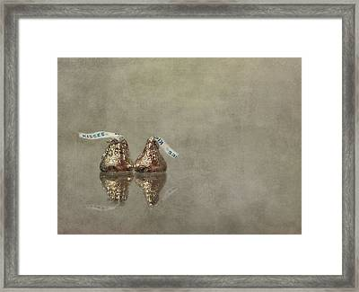 Kisses Framed Print by Evelina Kremsdorf