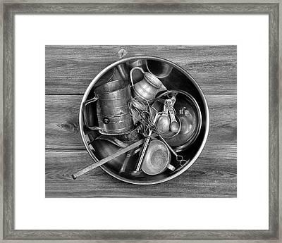 Kitchen Utensils Still Life I Framed Print by Tom Mc Nemar