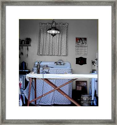 Kitchen Works 1942 Framed Print by Steven  Digman