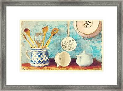 Kitchenware Framed Print by Bekare Creative