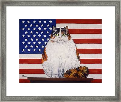 Kitty Ross Framed Print by Linda Mears