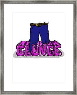 Knee Deep In The Clunge - The Inbetweeners Framed Print by Paul Telling
