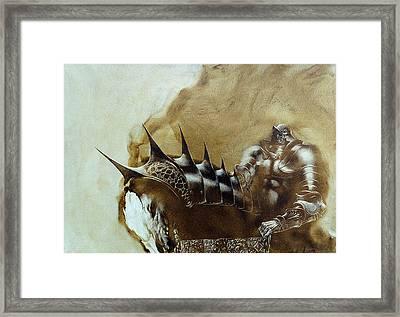 Knight 1 Framed Print by Valeriy Mavlo