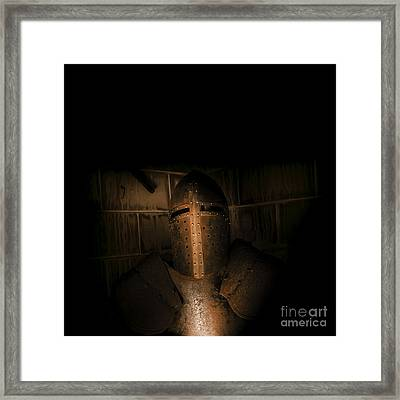 Knight Of Darkness Framed Print by Jorgo Photography - Wall Art Gallery