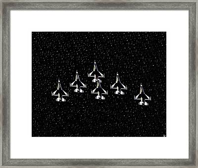 Knights Of Thunder Framed Print by David Lee Thompson