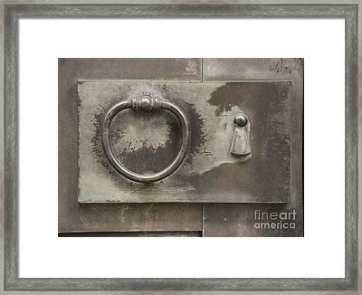 Knocker Framed Print by Juli Scalzi