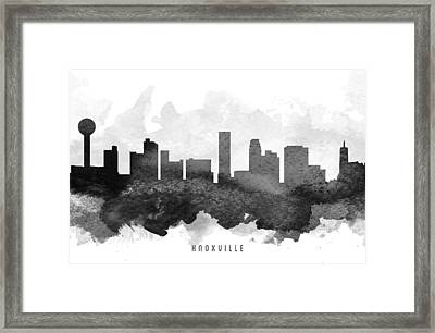 Knoxville Cityscape 11 Framed Print by Aged Pixel