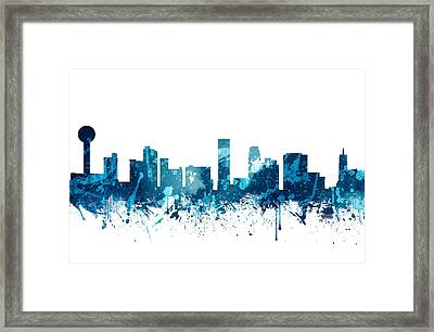 Knoxville Tennessee Skyline 19 Framed Print by Aged Pixel