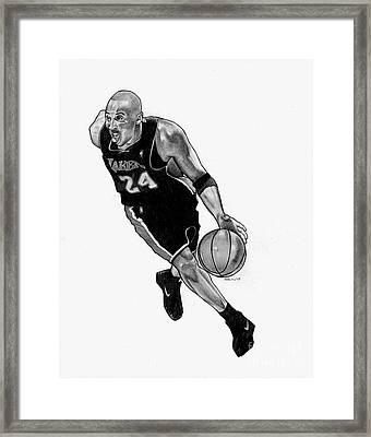 Kobe Framed Print by Ben Henderson