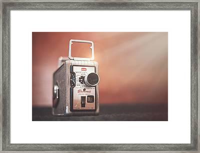 Kodak Brownie 8mm Framed Print by Scott Norris