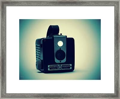 Kodak Brownie Framed Print by Bob Orsillo