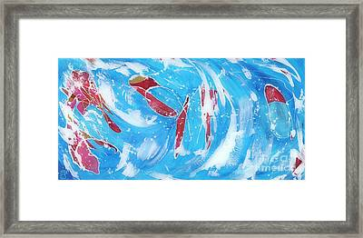 Koi Framed Print by Danielle Perry
